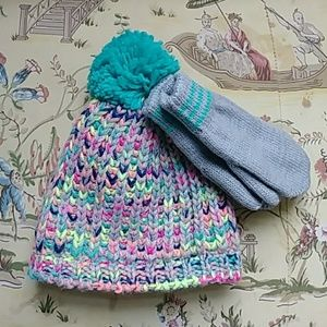 Toddlers Carter's Beanie and Glove Set